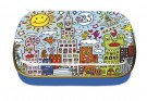 Art-box. Liten metallask. James Rizzi